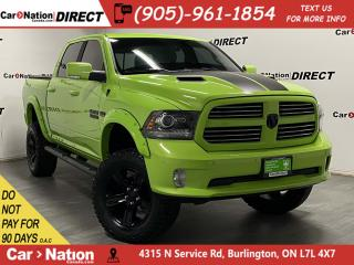 Used 2017 RAM 1500 Sublime Sport| UPGRADED TIRES| LIFTED| SUNROOF| for sale in Burlington, ON