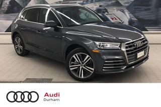 Used 2018 Audi Q5 2.0T Progressiv + S-Line | Rear Cam | Nav for sale in Whitby, ON