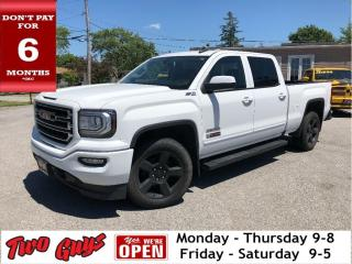 Used 2017 GMC Sierra 1500 SLE Z71 | Elevation + Kodiak  | Crew 5.3L | 4WD| for sale in St Catharines, ON