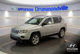 Used 2012 Jeep Compass NORTH 4X4 + GARANTIE + MAGS + A/C !! for sale in Drummondville, QC