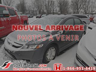 Used 2011 Honda Civic 4 portes, boîte automatique, DX-G for sale in Sorel-Tracy, QC