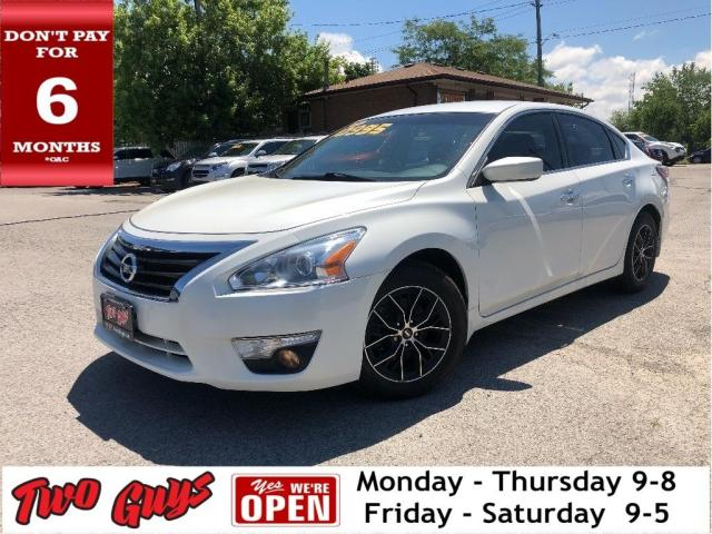 2015 Nissan Altima 2.5 S | Local Trade | Alloys | Bluetooth | B/Up Ca