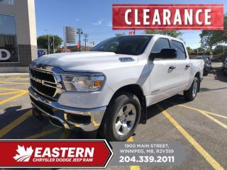 New 2020 RAM 1500 Tradesman | Backup Cam |  0% Financing | for sale in Winnipeg, MB