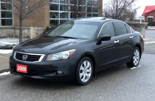 Used 2008 Honda Accord Sdn EX-L,EX-L for sale in Brampton, ON