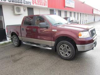 Used 2006 Ford F-150 XLT XTR $5,995 +HST +LIC FEE / 1 OWNER / 4X4 for sale in North York, ON