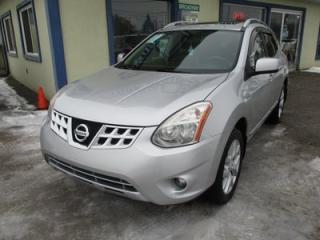Used 2011 Nissan Rogue ALL-WHEEL DRIVE SV EDITION 5 PASSENGER 2.5L - DOHC.. NAVIGATION.. LEATHER.. HEATED SEATS.. POWER SUNROOF.. BACK-UP CAMERA.. BLUETOOTH.. for sale in Bradford, ON