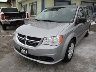 Used 2014 Dodge Grand Caravan FAMILY MOVING SE EDITION 7 PASSENGER 3.6L - V6.. ECON-BOOST.. CD/AUX INPUT.. REAR STOW-N-GO SEATING.. KEYLESS ENTRY.. for sale in Bradford, ON