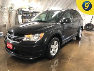 Used 2013 Dodge Journey Se Plus * Uconnect 4.3S CD/MP3/4.3 inch touch-screen * Phone connect *  Dual climate control * Push button ignition * Telescopic/tilt steering * Inter for sale in Cambridge, ON