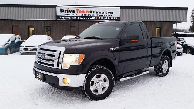 2011 Ford F-150 XLT 4X4 REGULAR CAB SHORT BOX