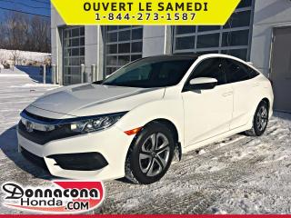 Used 2016 Honda Civic LX * GARANTIE GLOBALE 2021* for sale in Donnacona, QC