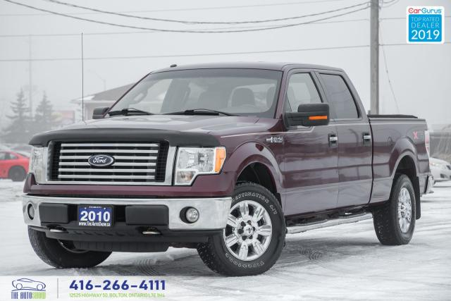 2010 Ford F-150 4X4 4.6 XLT 4DR 1Owner Certified Serviced Spotless