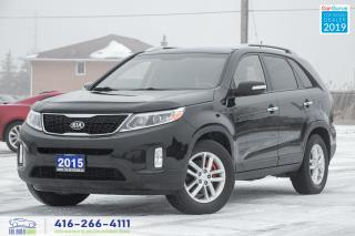 Used 2015 Kia Sorento Clean Carfax Certified Serviced Financing Spotless for sale in Bolton, ON
