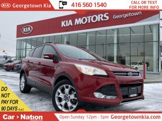 Used 2013 Ford Escape SEL | 4WD | NAVI | LEATHER | HEATED SEATS | LOW KM for sale in Georgetown, ON