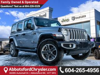Used 2019 Jeep Wrangler Unlimited Sahara *ACCIDENT FREE* *LOCALLY DRIVEN* for sale in Abbotsford, BC