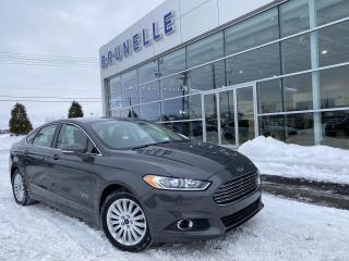Used 2016 Ford Fusion SE PLUG-IN cuir for sale in St-Eustache, QC