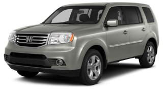 Used 2015 Honda Pilot EX-L LEATHER INTERIOR | HEATED FRONT & SECOND ROW SEATS | EIGHT PASSENGER SEATING for sale in Cambridge, ON
