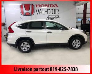 Used 2015 Honda CR-V 2 RM 5 portes LX for sale in Val-D'or, QC