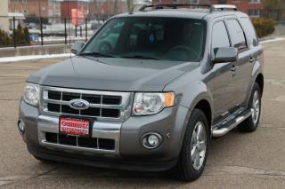 Used 2012 Ford Escape Limited NAVIGATION | 1-Owner | NO Accidents for sale in Waterloo, ON