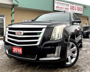 Used 2016 Cadillac Escalade Premium Collection for sale in Bolton, ON