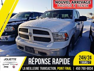 Used 2014 RAM 1500 OUTDOORSMAN, BLUETOOTH, SIÈGES INCLINABLE, MIROIRS for sale in Joliette, QC