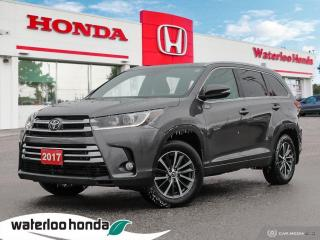 Used 2017 Toyota Highlander Beautiful Highlander XLE! for sale in Waterloo, ON