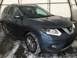 Used 2014 Nissan Rogue SL NAVIGATION, DUAL PANE SUNROOF, LEATHER HEATED SEATING for sale in Ottawa, ON