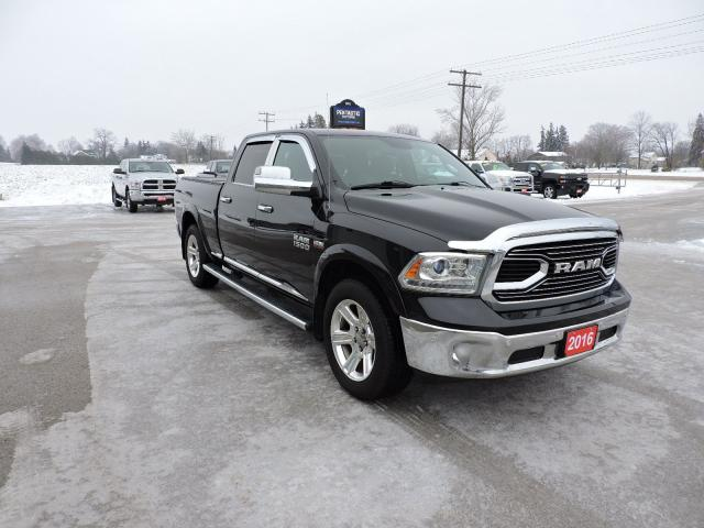 2016 RAM 1500 Limited. Leather. Air suspension. Navigation