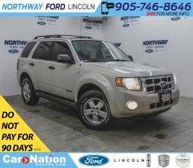 Used 2008 Ford Escape XLT | AWD | KEYLESS ENTRY | SUNROOF | CRUISE | for sale in Brantford, ON