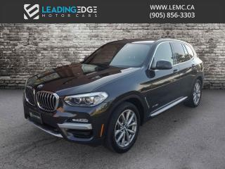 Used 2018 BMW X3 xDrive30i Premium Package Essential for sale in Woodbridge, ON