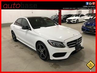 Used 2017 Mercedes-Benz C-Class C300 4MATIC NIGHT PREMIUM PLUS LED 360 CAM POWER TRUNK for sale in Vaughan, ON