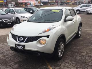 Used 2012 Nissan Juke FWD 5dr Wgn I4 CVT SV for sale in Brantford, ON