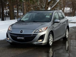 Used 2010 Mazda MAZDA3 GT,ONE-OWNER,NO-ACCIDENTS,SUNROOF,FOG LIGHT,LOADED for sale in Mississauga, ON