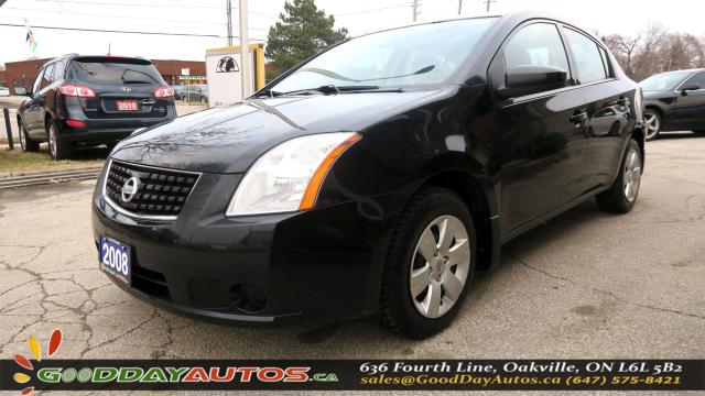 2008 Nissan Sentra 2.0|LOW KM|NO ACCIDENT|AIR CONDITIONING|CERTIFIED