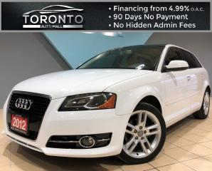 Used 2012 Audi A3 Progressiv 4dr HB S tronic FrontTrak TDI Progressiv Diesel Clean Carfax for sale in North York, ON