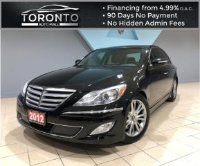 Used 2012 Hyundai Genesis 3.8L 2012 Genesis 4dr Sdn V6 w-Technology Pkg One Owner for sale in North York, ON