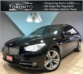 Used 2010 BMW 5 Series Gran Turismo 550i 5dr 550i Gran Turismo RWD NAVI BACKUP CAMERA No Accident for sale in North York, ON