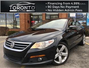 Used 2011 Volkswagen Passat CC Luxury PZEV 4dr DSG Highline No Accidents Clean Carfax Heated Seats Moonroof Leather for sale in North York, ON