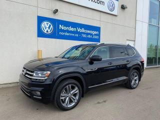 New 2019 Volkswagen Atlas *DEALER DEMO* EXECLINE R-LINE W/ BENCH for sale in Edmonton, AB
