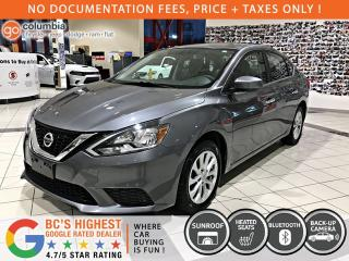 Used 2017 Nissan Sentra SV - Sunroof / Heated Seats / No Dealer Fees for sale in Richmond, BC