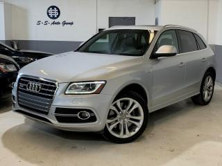 Used 2014 Audi SQ5 3.0T NAV|ACCIDENT FREE|PANO ROOF|DRIVE SELECT for sale in Oakville, ON