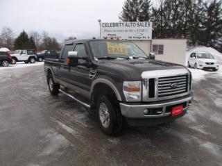 Used 2008 Ford F-250 4X4 SUPER DUTY LARIAT for sale in Elmvale, ON