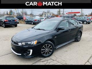 Used 2016 Mitsubishi Lancer SE LTD / SUNROOF / NO ACCIDENTS for sale in Cambridge, ON