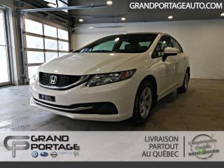 Used 2015 Honda Civic LX 4 Portes Auto *Jamais Accidenté for sale in Rivière-Du-Loup, QC