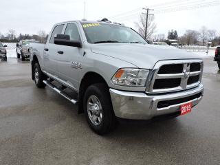 Used 2015 RAM 2500 SXT. Diesel. 4X4. 1 owner. Extra clean for sale in Gorrie, ON