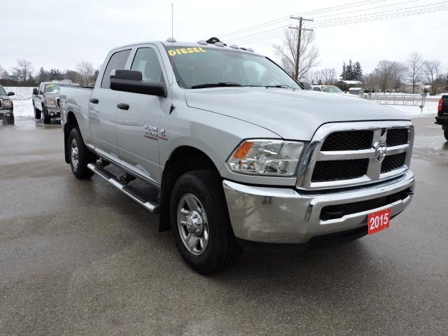 2015 RAM 2500 SXT. Diesel. 4X4. 1 owner. Extra clean