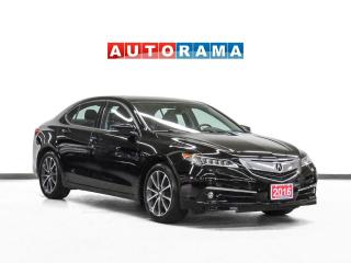 Used 2016 Acura TLX V6 Elite AWD Navigation Leather Sunroof Backup Cam for sale in Toronto, ON
