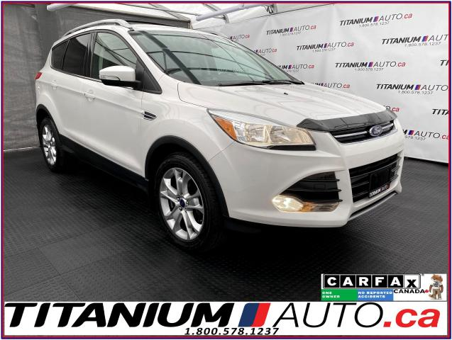 2016 Ford Escape Titanium+AWD+GPS+Camera+Pano Roof+Leather Seats+XM