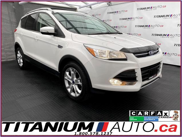 2016 Ford Escape Titanium+AWD+GPS+Camera+Pano Roof+Leather Seats+XM