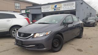 Used 2015 Honda Civic LX w/Backup Cam for sale in Etobicoke, ON