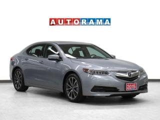 Used 2015 Acura TLX V6 Leather Sunroof Backup Cam for sale in Toronto, ON